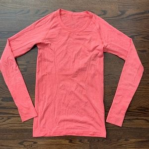 Lululemon Swifty Tech Long Sleeve Crew